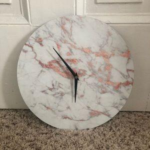 Other - Minimalist Marble Laminate Wall Clock